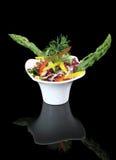 Salada dos vegetais com espargos Foto de Stock Royalty Free