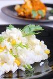 A salada e chiken Fotos de Stock Royalty Free