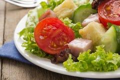 Salada e legumes frescos Imagens de Stock