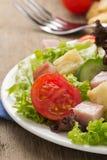 Salada e legumes frescos Imagem de Stock Royalty Free