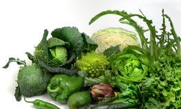 Salada e vegetais fotografia de stock royalty free