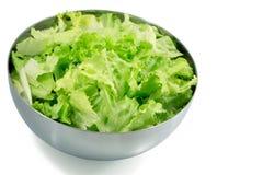 Salada em uma bacia Fotos de Stock