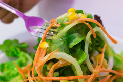 Salada fácil imagem de stock