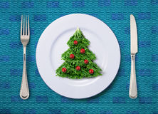 Salada festiva Fotografia de Stock