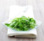 Salada fresca com arugula fotografia de stock