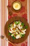 Salada fresca com pingamento Fotografia de Stock