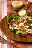 Salada fresca com pingamento Imagem de Stock Royalty Free