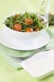 Salada da rúcula Fotografia de Stock Royalty Free