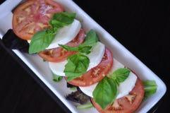 Salada fresca de Caprese Foto de Stock Royalty Free