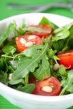 Salada fresca do arugula Foto de Stock