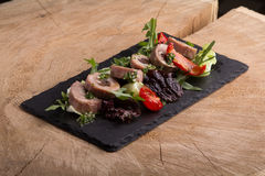 Salada fresca do atum Foto de Stock