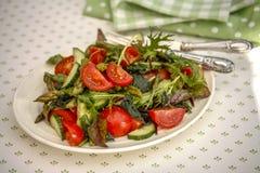 Salada fresca do tomate Foto de Stock Royalty Free