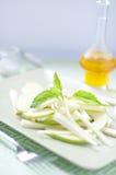 Salada fresca e aipo vermelho verde, aipo Imagem de Stock Royalty Free