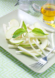 Salada fresca e aipo vermelho verde, aipo Fotografia de Stock Royalty Free