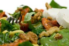 Salada fresca e saudável foto de stock