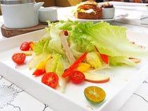 Salada fresca e saudável Fotografia de Stock