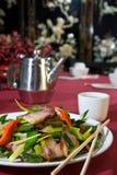Salada friável da barriga de carne de porco Fotografia de Stock