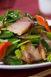 Salada friável da barriga de carne de porco Imagem de Stock