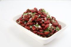 Salada fria dos feijões vermelhos Imagens de Stock