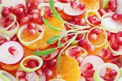Salada Fruity fotografia de stock