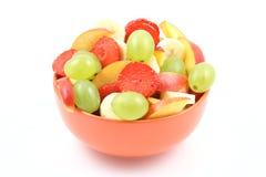 Salada Fruity imagem de stock royalty free