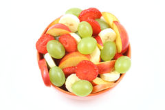 Salada Fruity fotografia de stock royalty free