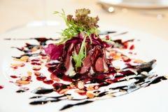 Salada fumada do pato Fotos de Stock