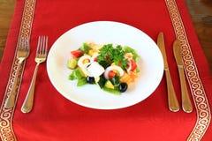 Salada grega Fotos de Stock Royalty Free