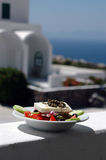 Salada grega imagem de stock