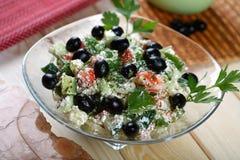 Salada grega   Foto de Stock Royalty Free