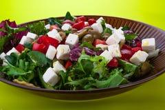 Salada grega Fotos de Stock