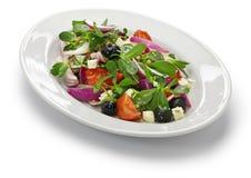Salada grega com purslane Fotos de Stock