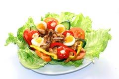 Salada grelhada da galinha fotografia de stock