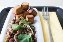 Salada indiana da lentilha Imagens de Stock