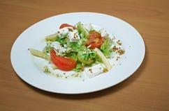 Salada italiana com queijo Fotos de Stock Royalty Free