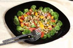 Salada italiana dos brócolis do ciciliana do instalata fotos de stock royalty free