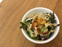 Salada japonesa fotografia de stock royalty free