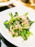 Salada japonesa Fotografia de Stock