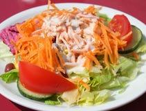 Salada lateral Imagem de Stock