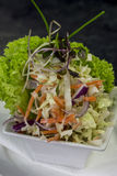 Salada lateral Imagem de Stock Royalty Free