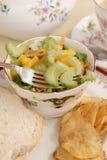 Salada lateral do aipo Foto de Stock