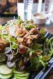 Salada local tailandesa foto de stock royalty free