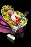 Salada luxuoso. Fotografia de Stock