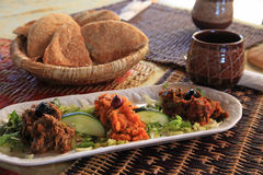 Salada marroquina Fotografia de Stock Royalty Free