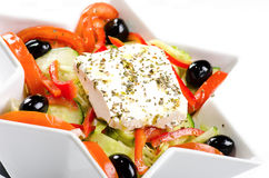 Salada mediterrânea Foto de Stock