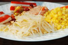 Salada misturada Imagem de Stock