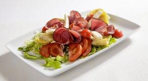Salada misturada do presunto Foto de Stock
