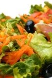 Salada misturada, opinião do retrato Imagens de Stock Royalty Free