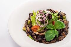 Salada morna com vitela Fotografia de Stock Royalty Free