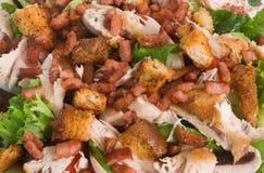 Salada morna da galinha Imagem de Stock Royalty Free